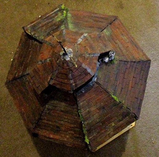 theinfill blog – Dolls House Emporium Market Cross kit - homemade roof
