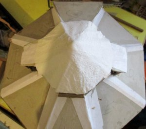 theinfill blog – Dolls House Emporium Market Cross kit - adding a lantern roof