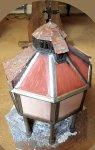 theinfill blog – Dolls House Emporium Market Cross kit - adding a lantern roof