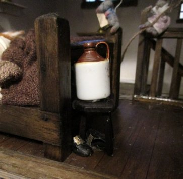 theinfill blog – Clemcold Cottage scratch build eighteenth century scenes - bedroom