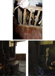 theinfill blog – Clemcold Cottage scratch build eighteenth century scenes - eighteenth century leaking roof