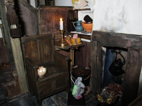 theinfill blog – Clemcold Cottage scratch build eighteenth century scenes - food corner