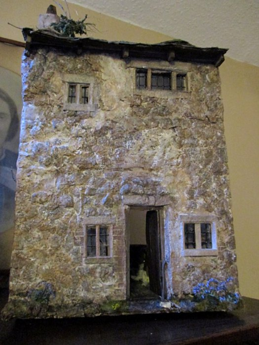 theinfill blog – Clemcold Cottage scratch build eighteenth century scenes - eighteenth century scene - completed