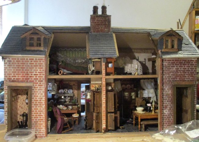 theinfill blog, theinfill dolls house blog – scratch build Victorian and Edwardian scenes, Victoria Villas