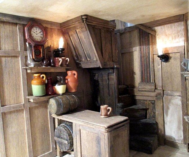 theinfill blog, theinfill dolls house blog – scratch build Georgian scenes - coaching inn tavern