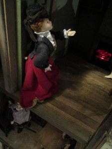 theinfill blog, theinfill dolls house blog – scratch build Georgian scenes - The Old Misery coaching inn characters