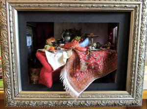 theinfill blog, theinfill dolls house blog – interpreting a C17 Dutch Still Life