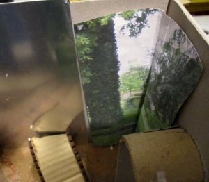 theinfill blog, theinfill dolls house blog – scratch build optical illusion room boxes - A Quiet Corner in the Park